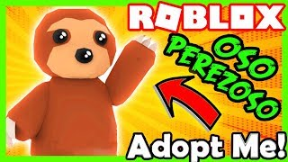 🐻 HOW TO HAVE THE NEW MASCOTA 💛 FREE PEREZOSO BEAR IN ADOPT ME! Roblox 😋