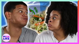 Dominicans Try Guatemalan Food