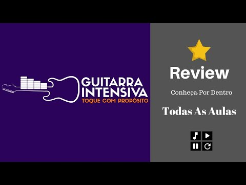 Curso Guitarra Intensiva Review - Todas as Aulas Na Integra