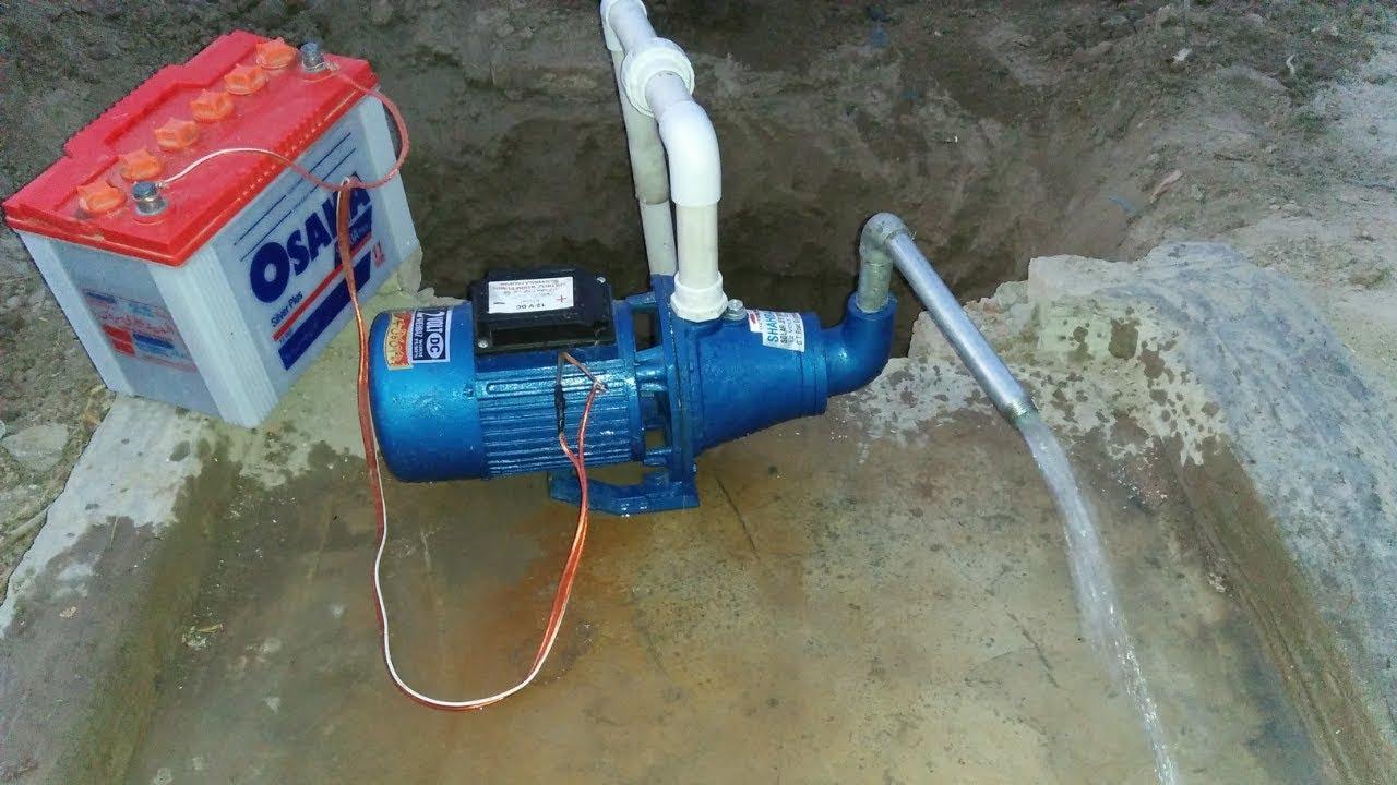 Install 12v Solar Water Pump   Water Solar Pump