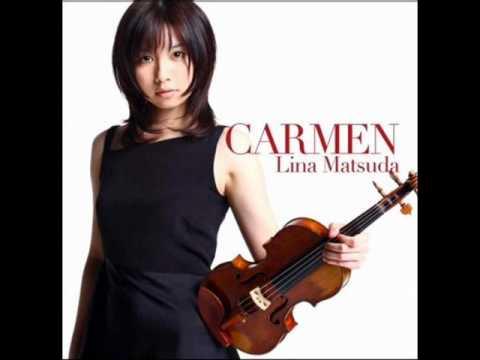 「小提琴甜心」Lina Matsuda 松田理奈 - Carmen 卡門幻想曲