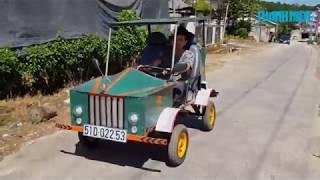 Học vấn lớp 5 chế tạo xe điện