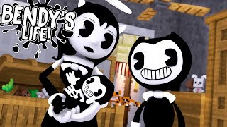 Download Minecraft BENDY'S LIFE (EP.10) - BENDY & ALICE ANGEL HAVE A BABY GIRL - WHAT IS HER NAME?? Mp3 and Videos