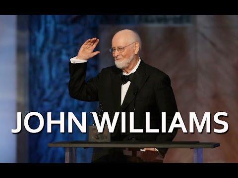 John Williams accepts the 44th AFI Life Achievement Award