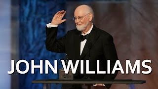 John Williams accepts the 44th AFI Life Achievement Award