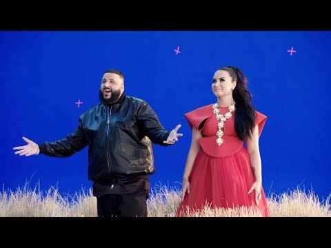 Behind the Scenes of Demi Lovato and DJ Khaled
