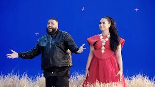 "Behind the Scenes of Demi Lovato and DJ Khaled ""I Believe"" video for A WRINKLE IN TIME"