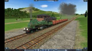 Transport Fever - Map 2 - Gare de St-Chamond agricole : Trafic