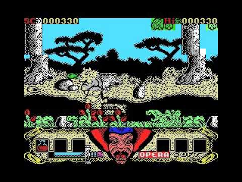 Sirwood (MSX, tape, 1990 Opera Soft)
