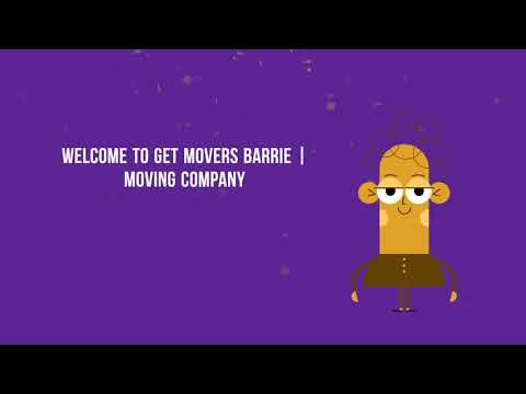 Get Movers Barrie On - Moving Company