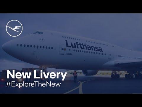 New Lufthansa Livery | Lufthansa