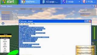 StephenODeaHowTo: ROBLOX KO script How to use it (read the description)