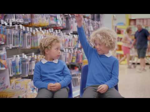Tesco and F&F | The School of Back to School