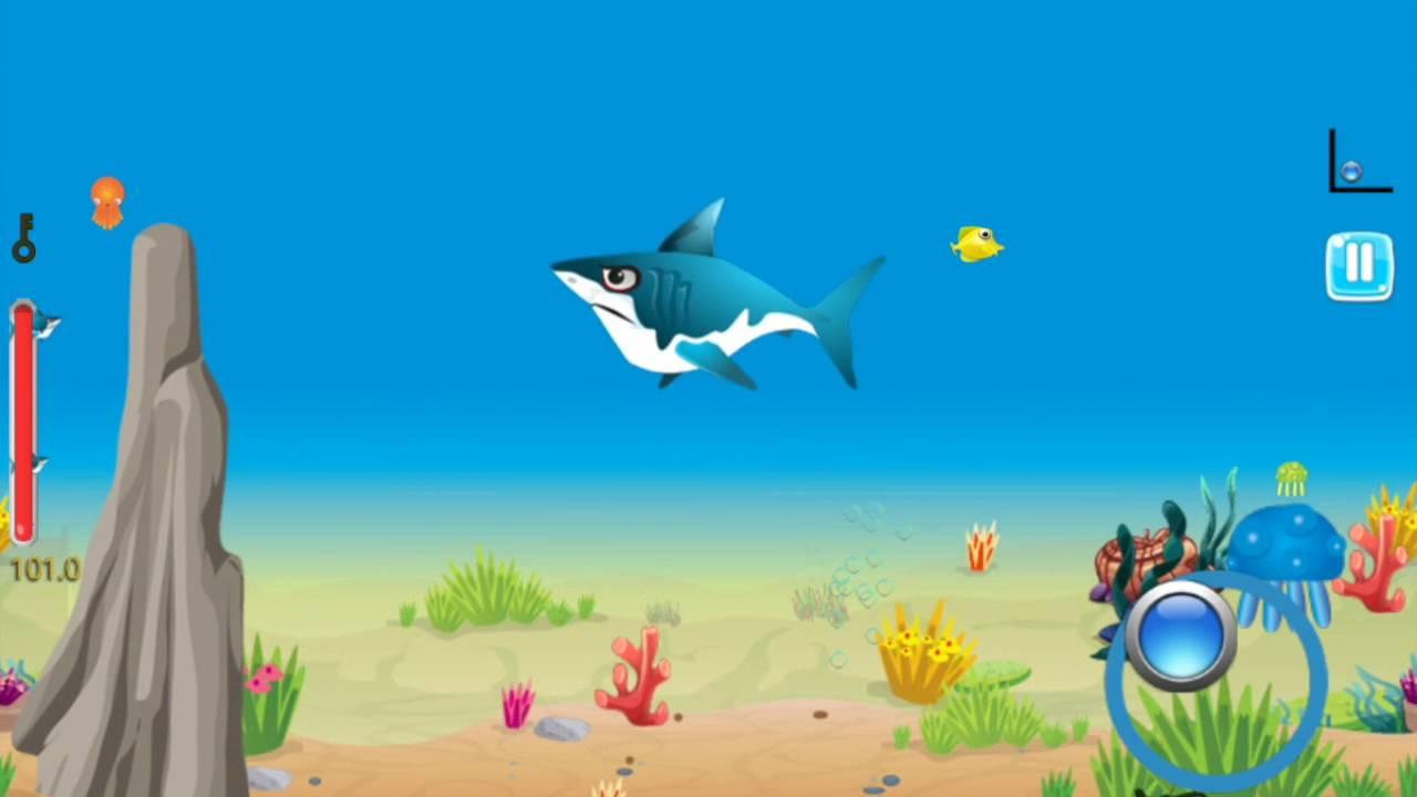 permainan ikan hiu Shark Journey