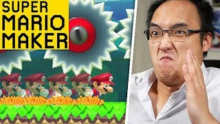 VOUS N'AVEZ PAS LE DROIT DE SAUTER ! | Super Mario Maker