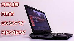ASUS ROG G75VW Review and Gaming Performance Overview