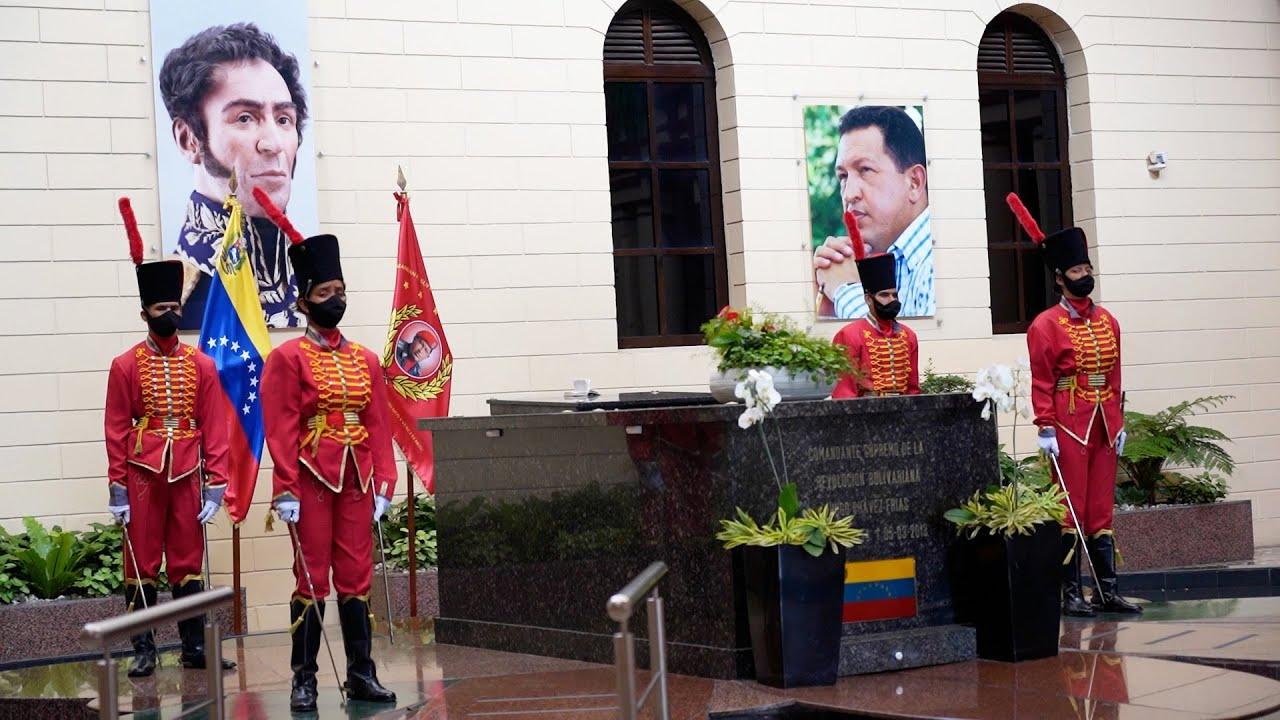 ¿HONOR O DESCARO? La tumba de Hugo Chávez en Venezuela