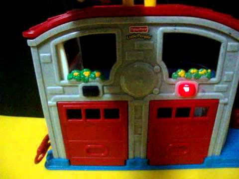 Fisher Price Little People Emergency Fire Station by www.iceandnut.pantown.com