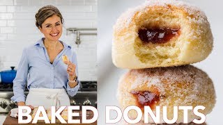 How To Make Baked Donuts Recipe Filled With Jam