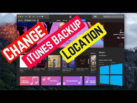 How to Change iTunes Backup Location in Windows 10