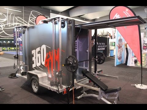 360Gym Trailer - A Truly Mobile Gym Business