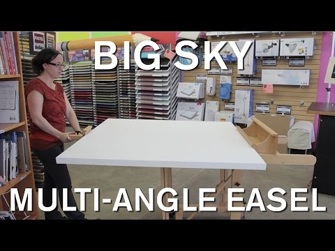 Big Sky Multi-Angle Easel - Opus Art Supplies
