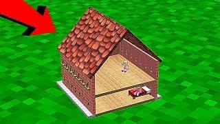НУБ НАШЕЛ САМЫЙ МАЛЕНЬКИЙ ДОМ ДЕВОЧКИ В Майнкрафте! Minecraft Мультики Майнкрафт троллинг Нуб и Про