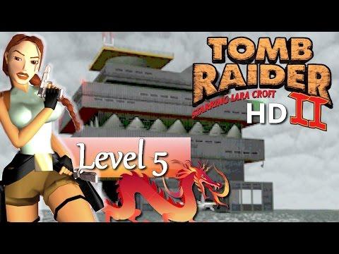 Tomb Raider II (HD Mod) - #05 Offshore Rig