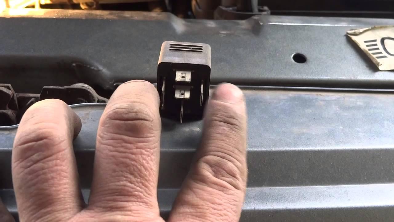 установка ДХО с помощью 5 ти контактного реле на ВАЗ 2111