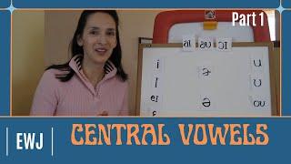 Pronunciation of English Vowel Sounds 4 - Central Vowels - Part 1 (with captions)