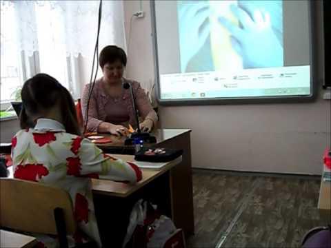 Фрагмент урока технологии Работа с бумагой. Открытка-рубашка (3 класс)