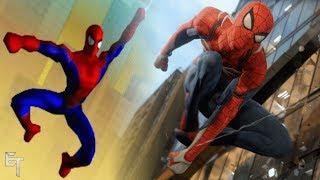 Evolution of Spider-Man Games Free Roam Web Swinging! (2000-2018)