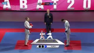 Karate 1 Rabat 2019. Final: Ali Asghar Asiabari (IRA) vs. Stanislav Horuna (UKR)