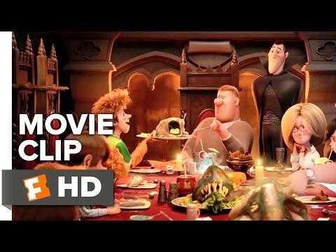 Hotel Transylvania 2 Movie CLIP - Family Dinner (2015) - Animated Movie HD