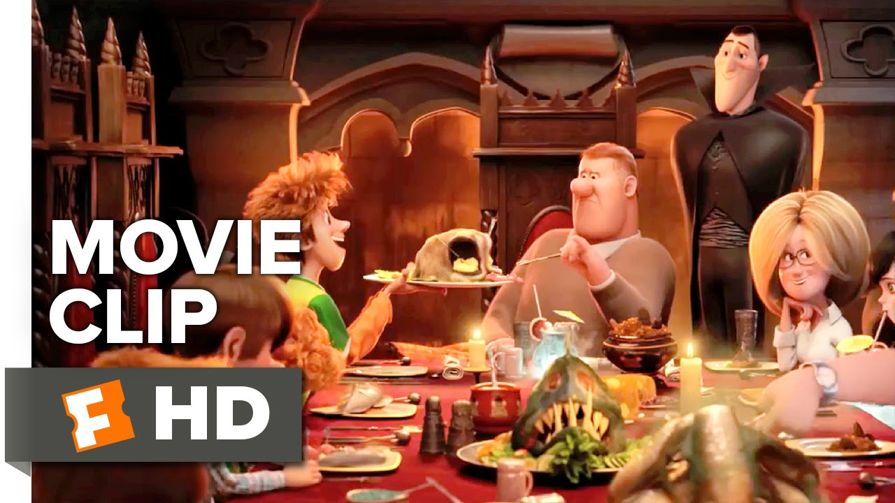 Download Hotel Transylvania 2 Movie CLIP - Family Dinner (2015) - Animated Movie HD