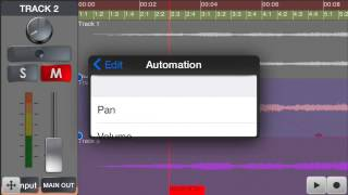 Automation in Pocket Studio