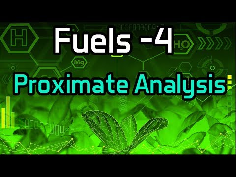 Fuels -4 Proximate Analysis