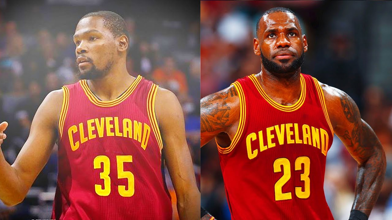 44104d7d9ac Kevin Durant Trade to Cavaliers! Kevin Durant Joins LeBron James and Kyrie  Irving on the Cavaliers