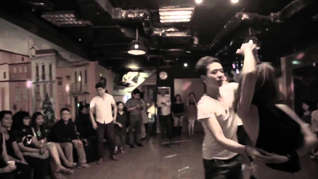 Beso Latino Dance Studio (141 Ba Trieu) - Linh Zeus & Sao Mai Zouk Introduce