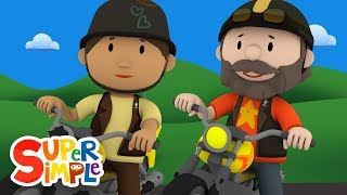 Hedgehog's Motorcycles Hit A Yucky Oil Slick | Carl's Car Wash | Cartoons For Kids