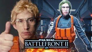 Matt the Radar Technician in Star Wars Battlefront 2!  New Battlefront 2 Mod Gameplay!