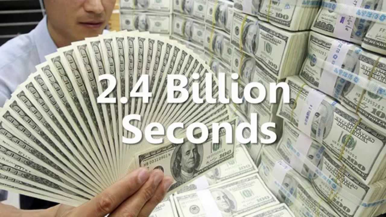 How Much Money Is One Trillion Dollars