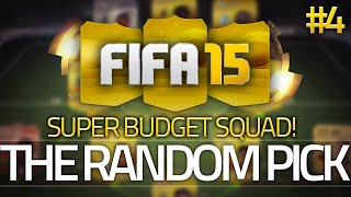 the random pick 4 budget edition 25k cheap beasts fifa 15 ultimate team 60fps