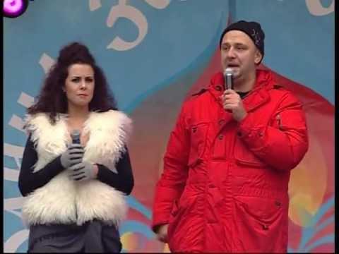 Потап и Настя - Масленица 2013, Ярославль - Смешные видео приколы