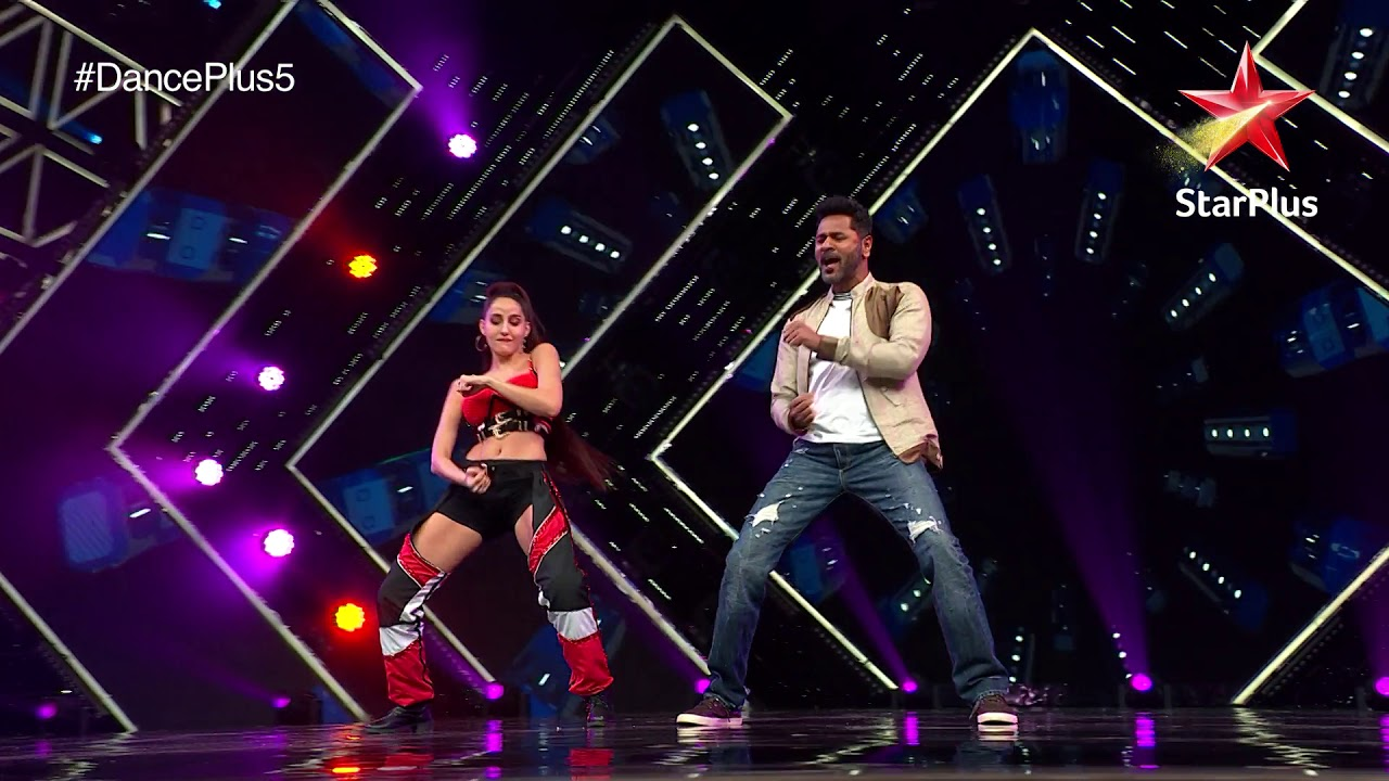 Dance+ 5 | Nora Fatehi and Prabhu Deva