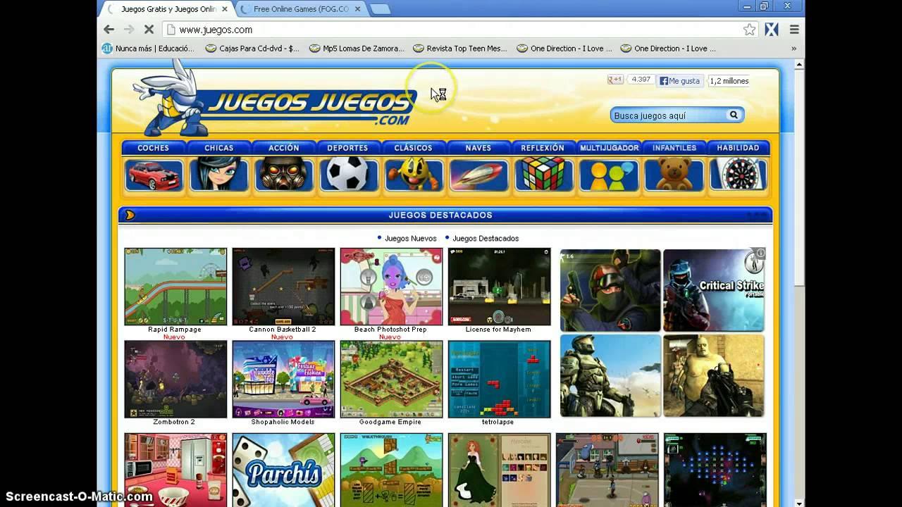 20 Paginas De Juegos Online Y Gratis. - YouTube