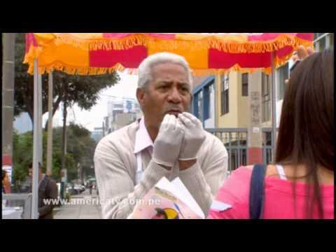 Shirley tiende trampa al señor Cotito