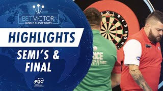Semi-Finals and Final Highlights | 2020 BetVictor World Cup of Darts