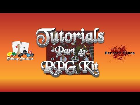 Tabletop Simulator Tutorial Series  Part 4: RPG Kit