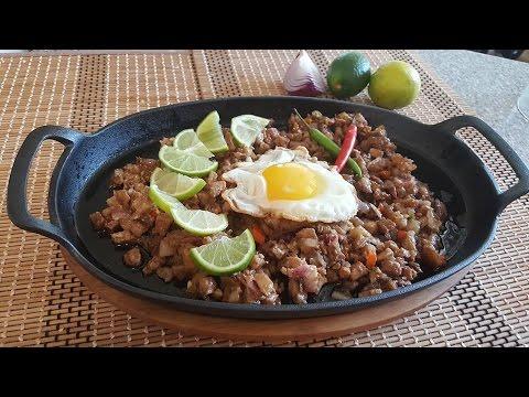 PORK SISIG (Filipino food)
